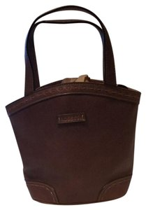 Rosetti Lighted Faux Leather Satchel in Brown