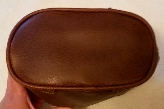 Rosetti Lighted Faux Leather Satchel in Brown Image 3