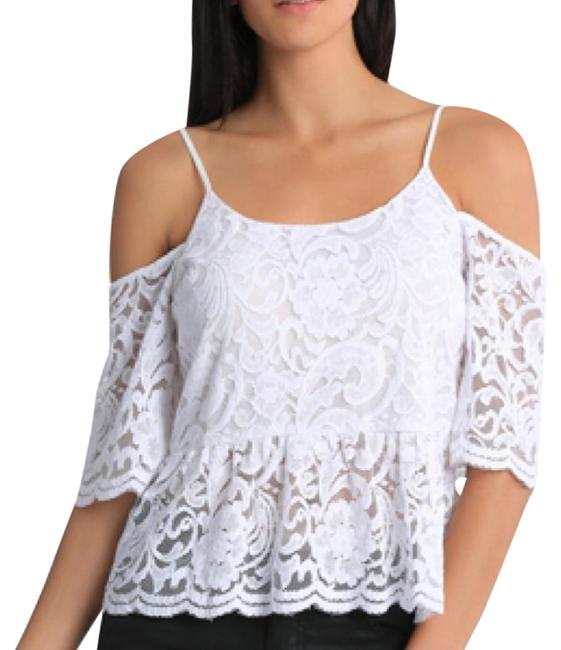 Preload https://img-static.tradesy.com/item/22119580/bardot-lace-cold-shoulder-night-out-top-size-2-xs-0-1-650-650.jpg