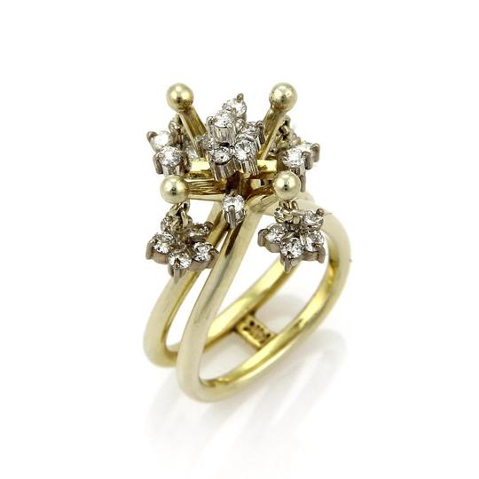 Preload https://img-static.tradesy.com/item/22119606/yellow-and-white-gold-vintage-100ct-diamond-14k-two-tone-moveable-chandelier-ring-0-0-540-540.jpg