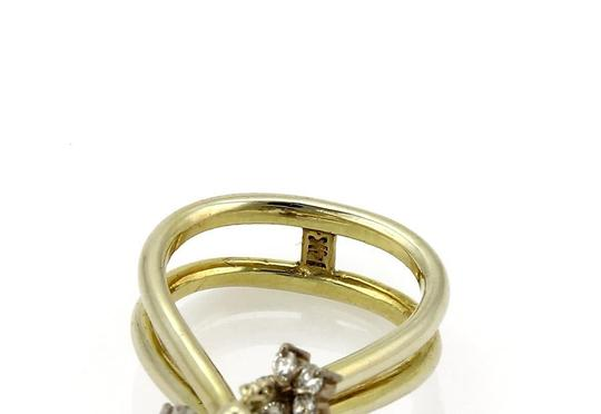 Other Vintage 1.00ct Diamond 14k Two Tone Gold Moveable Chandelier Ring Image 2
