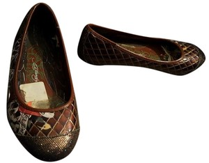 Ed Hardy 6 Loafers brown Flats