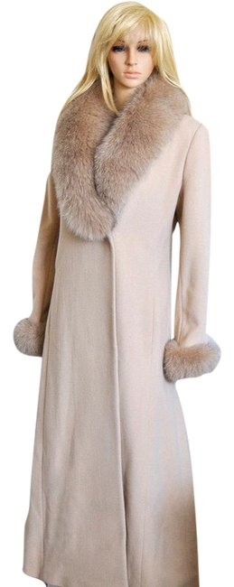 Preload https://img-static.tradesy.com/item/22119638/marvin-richards-camel-and-natural-blue-fox-fur-collar-cuffs-wool-cashmere-maxi-coat-size-4-s-0-1-650-650.jpg