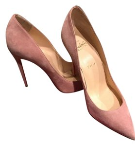 Christian Louboutin Pigalle Follies Ronsard Stiletto Suede pink Pumps