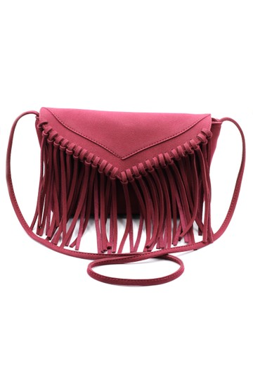 Ocean Fashion Purse Suede Shoulder Bag Image 2