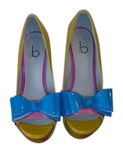 Bakers yellow, pink & blue Formal