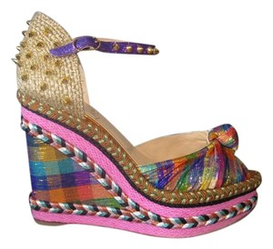 Christian Louboutin Madcarina 120mm New Multi Wedges