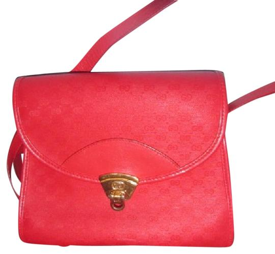 Preload https://img-static.tradesy.com/item/22120152/gucci-vintage-pursesdesigner-purses-red-small-g-logo-print-coated-canvas-and-leather-leathercoated-s-0-1-540-540.jpg