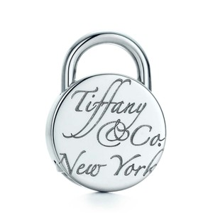 Tiffany & Co. T&Co retired Notes lock charm