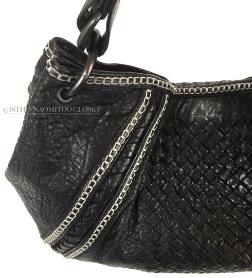 Bottega Veneta Satchel Weaved Suede Travel Business Casual Hobo Bag Image 1