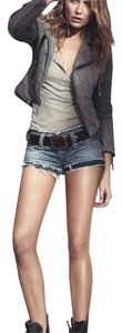 True Religion Cut Off Shorts blue