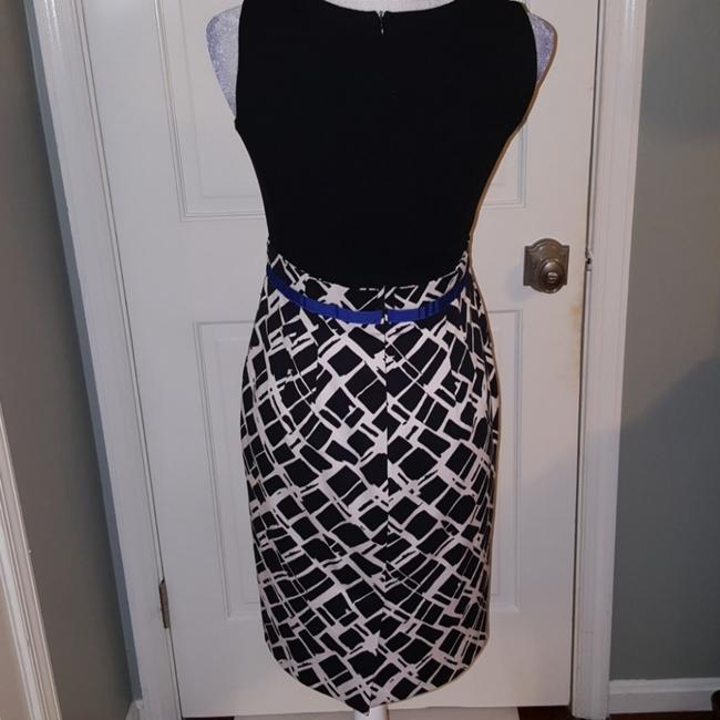 Donna Degnan short dress Blue, black and white on Tradesy Image 1