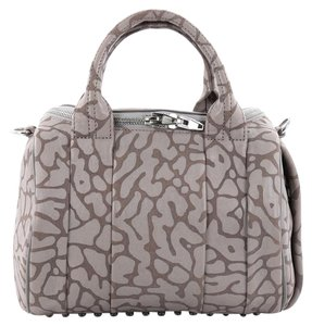 Alexander Wang Leather Satchel in Gray