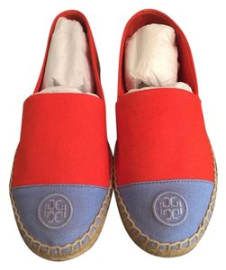 Tory Burch Poppy Red/Chicory Flats