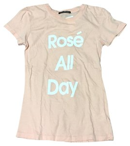 d9fcf9a6c85 Pink Wildfox Tee Shirts - Up to 70% off a Tradesy
