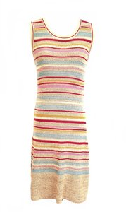 Chanel short dress Multicolor Cruise 2011 Knit 2011 on Tradesy
