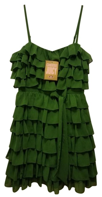 Preload https://img-static.tradesy.com/item/22121179/juicy-couture-green-new-short-formal-dress-size-2-xs-0-1-650-650.jpg