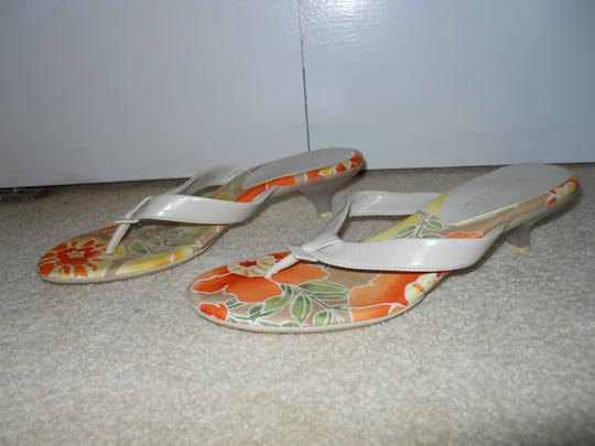 Aerosoles Thong Mbc beige, orange multi Sandals