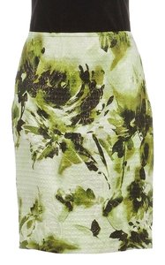 St. John Mini Skirt Green