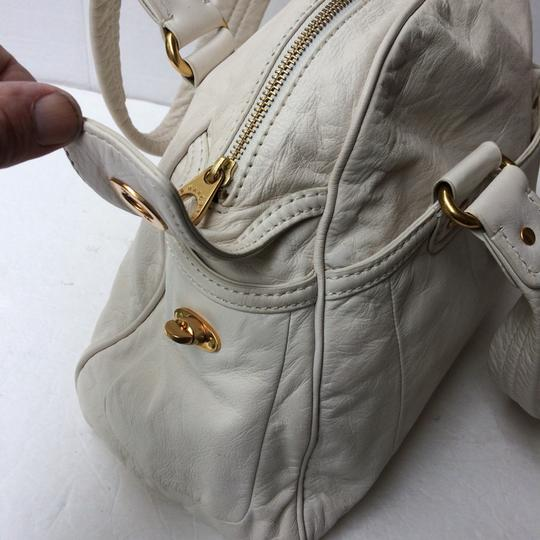 Marc by Marc Jacobs Satchel in White Image 3