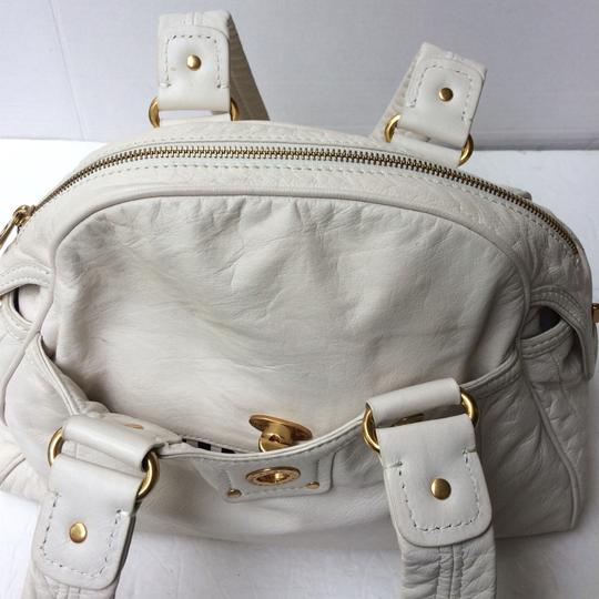 Marc by Marc Jacobs Satchel in White Image 4