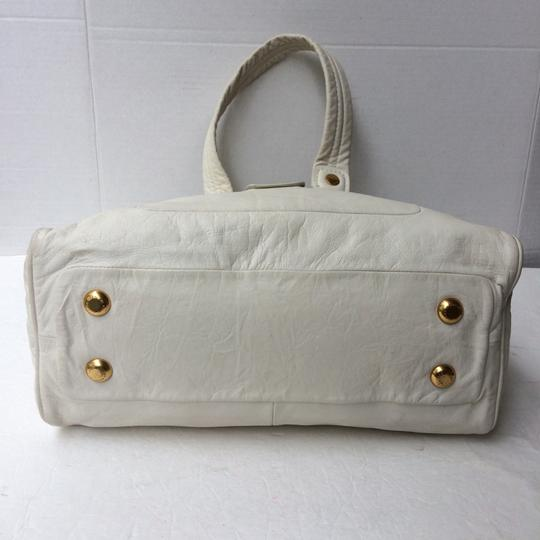 Marc by Marc Jacobs Satchel in White Image 5