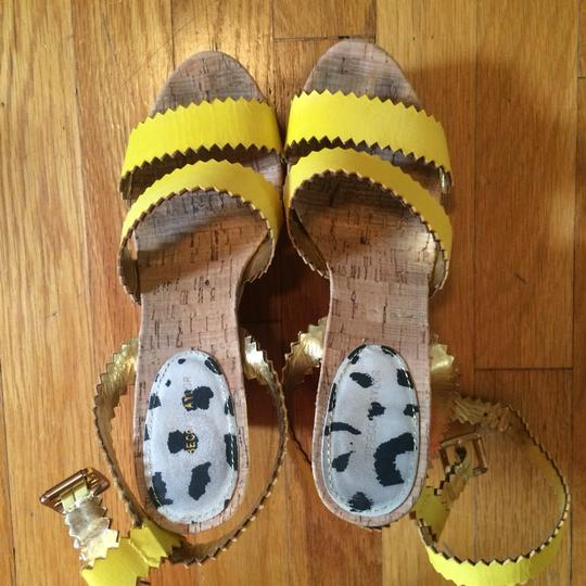 Rebecca Taylor yellow Wedges