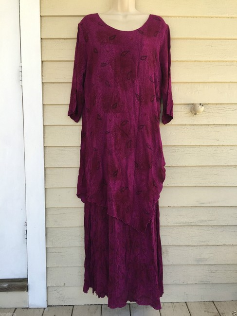 violet Maxi Dress by endless knot art Image 1