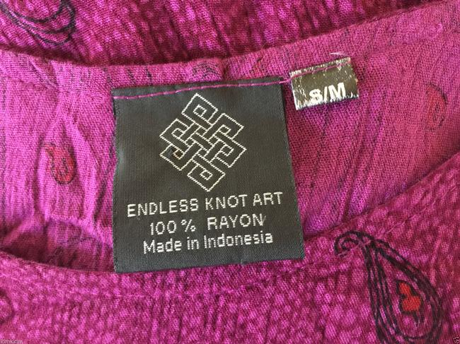 violet Maxi Dress by endless knot art Image 3