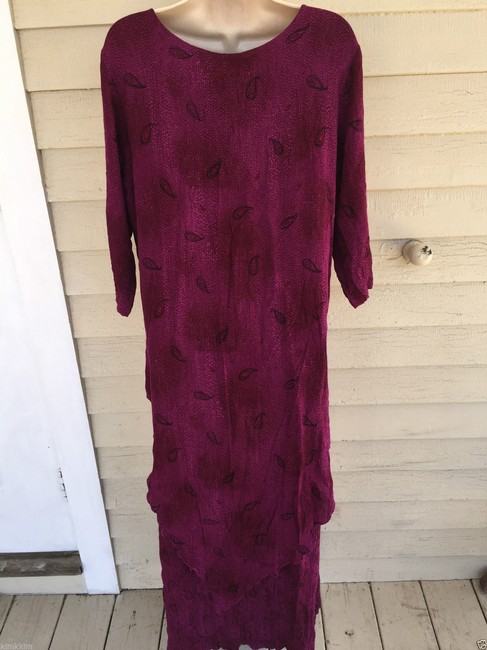 violet Maxi Dress by endless knot art Image 7