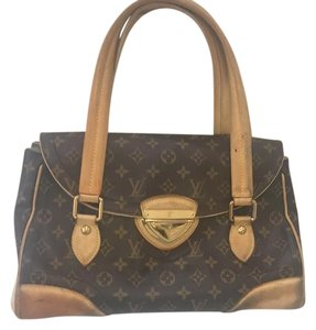 Louis Vuitton Tote in brown and beige