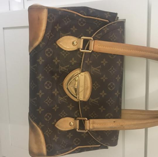 Louis Vuitton Tote in brown and beige Image 1