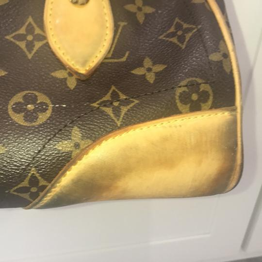 Louis Vuitton Tote in brown and beige Image 3