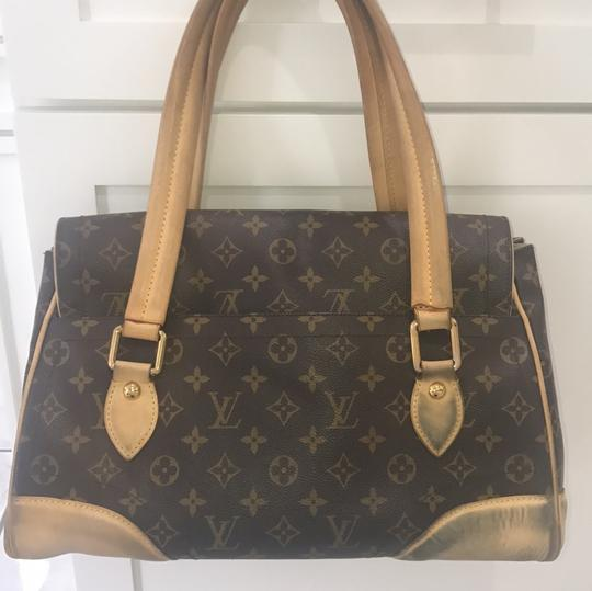 Louis Vuitton Tote in brown and beige Image 6