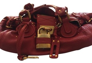Chlo Satchel in RED