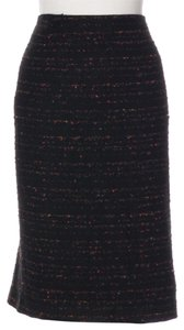 Lafayette 148 New York Skirt black multi