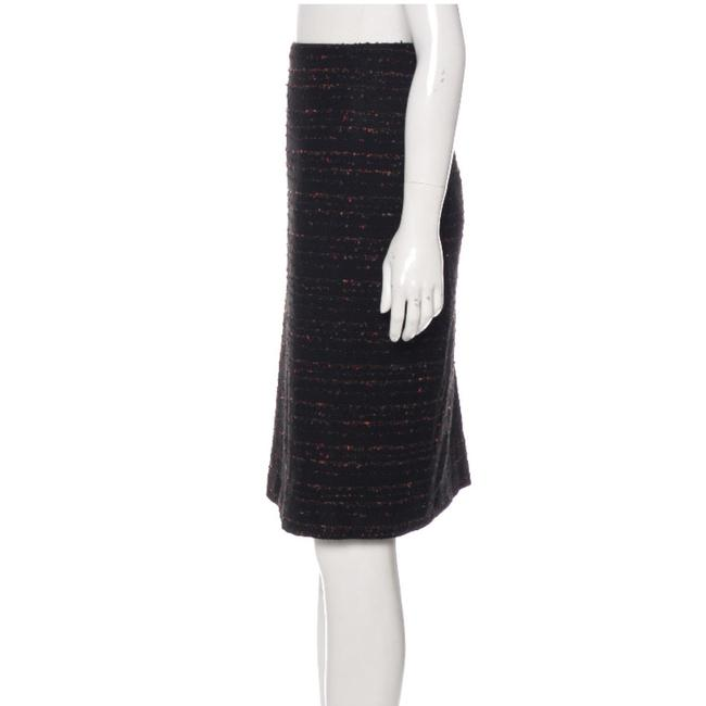 Lafayette 148 New York Skirt black multi Image 2