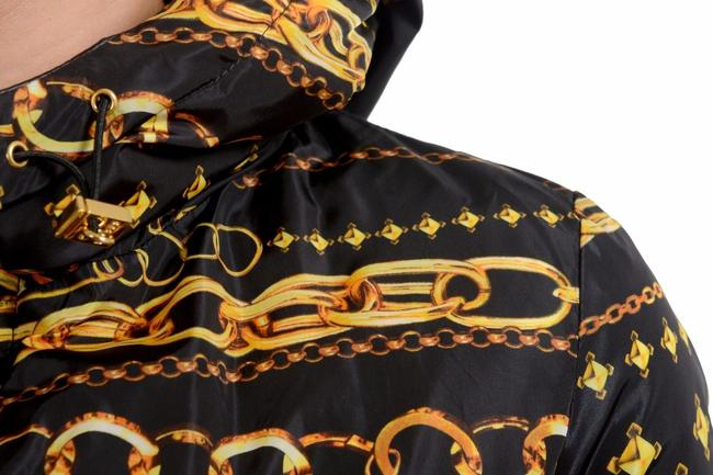 Versus Versace Black/Multi-Color Jacket Image 5