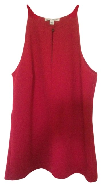 Item - Red Halter Top Size 8 (M)