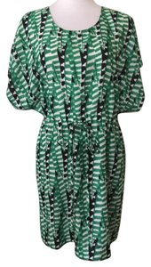 Collective Concepts short dress green & black on Tradesy