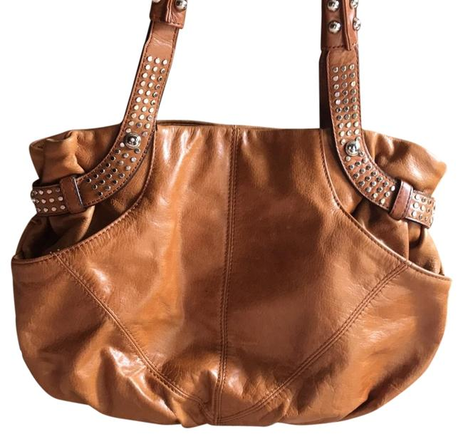 Item - Gently Used Tan with Silver Hardware Hobo Bag