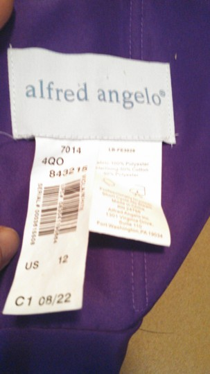 Alfred Angelo Viola/white 7014 Dress
