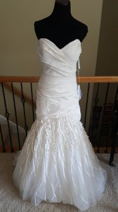 Watters Ivory Muna Wedding Dress Size 12 (L)