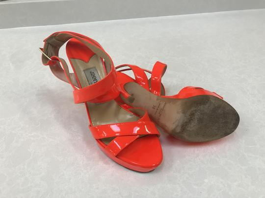 Jimmy Choo Orange Sandals Image 4