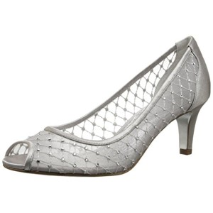 e0a6c85a1411 Adrianna Papell Silver Jamie Pumps Size US 10 Regular (M, B)