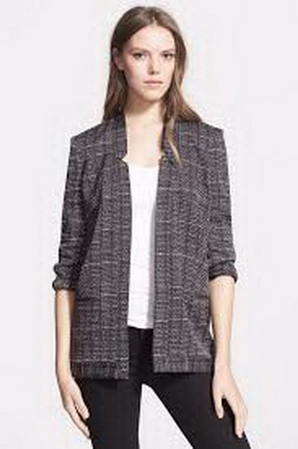 Haute Hippie Black/white Jacket Image 1