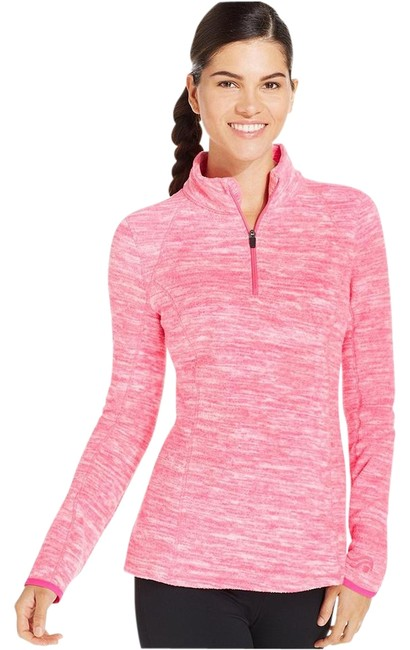 Preload https://img-static.tradesy.com/item/22122297/ideology-pink-space-dye-women-s-half-zip-fleece-pullover-xs-wot-activewear-size-0-xs-0-1-650-650.jpg