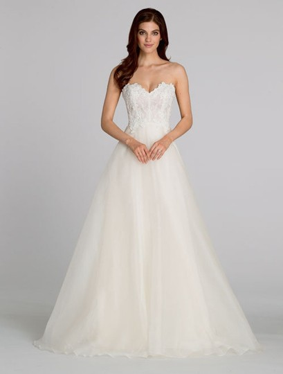 Preload https://img-static.tradesy.com/item/22122366/tara-keely-ivory-organza-lace-2554-traditional-wedding-dress-size-8-m-0-1-540-540.jpg