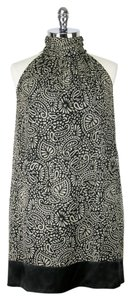 Shoshanna Silk Halter Print Shift Dress