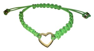 Juicy Couture Green Juicy Couture Heart Adjustable Bracelet